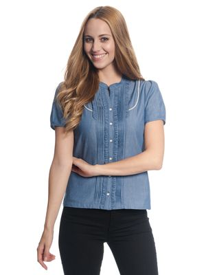 Vive Maria Denim Princess Bluse  – Bild 1