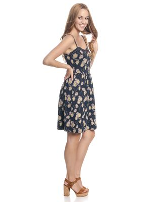 Vive Maria Dancing Daisy Dress blue allover – Bild 1