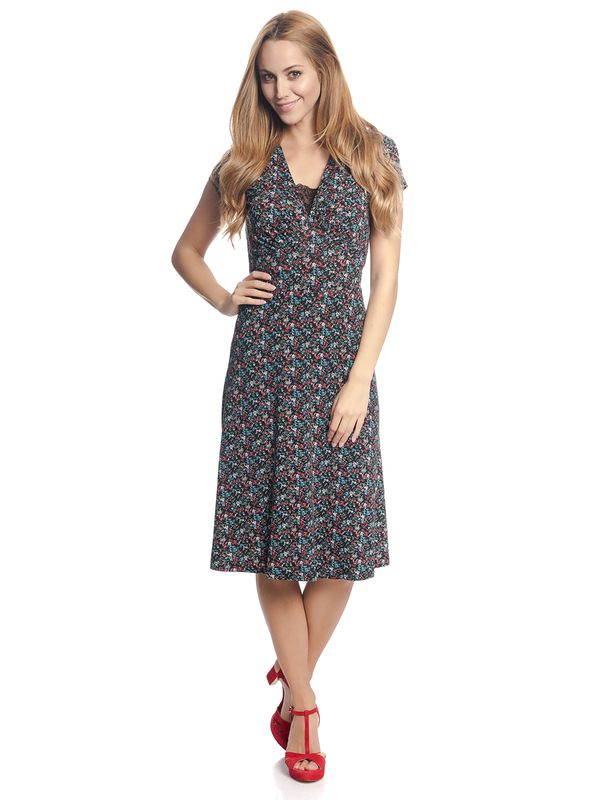 Vive Maria Picnic Dress black allover – Bild 1