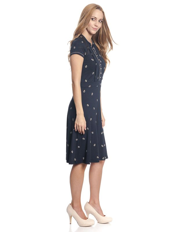 Vive Maria Ahoi Summer Dress navy allover – Bild 3