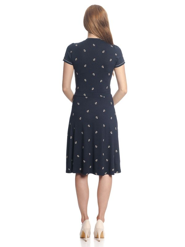 Vive Maria Ahoi Summer Dress navy allover – Bild 4