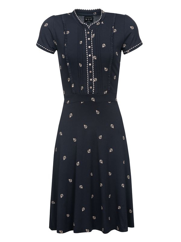 Vive Maria Ahoi Summer Dress navy allover – Bild 1