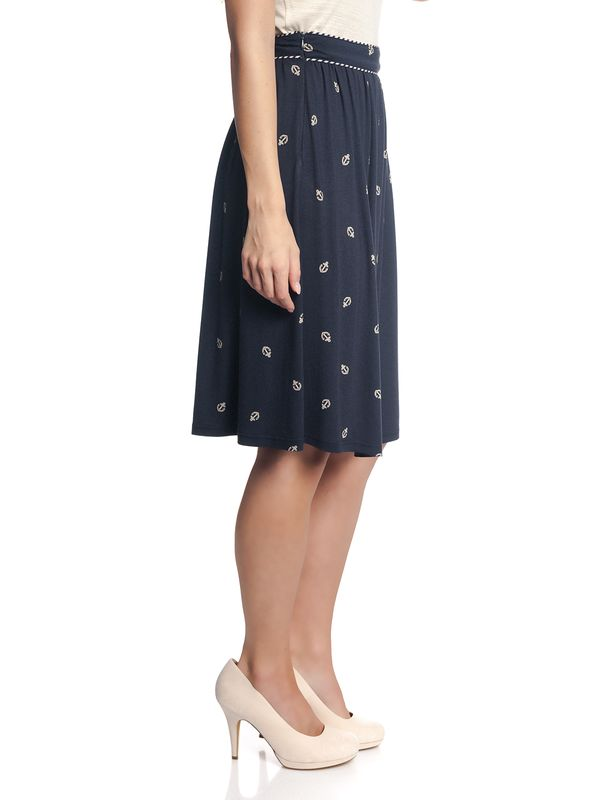 Vive Maria Ahoi Girl Skirt navy allover – Bild 4