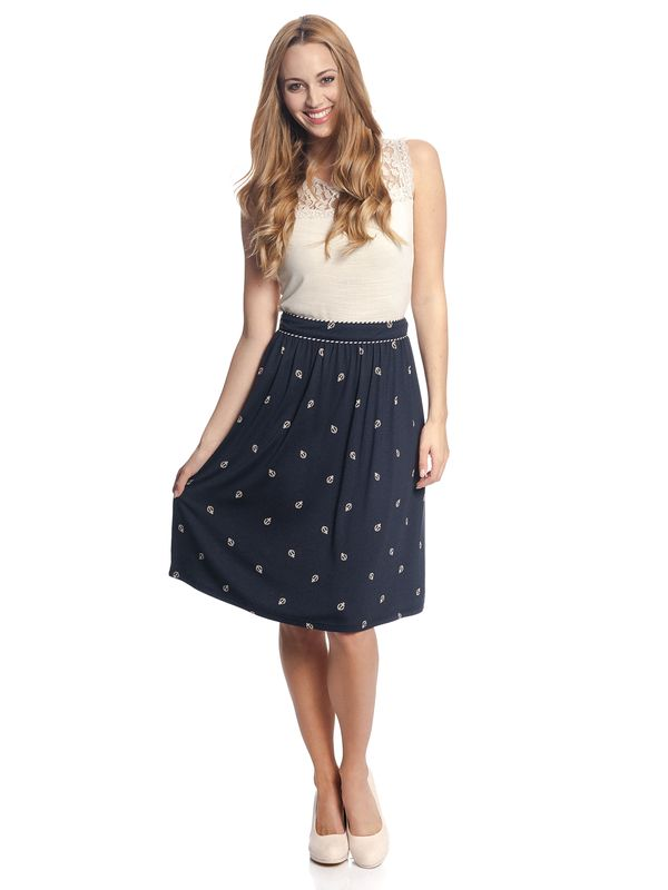 Vive Maria Ahoi Girl Skirt navy allover – Bild 1