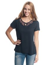 Vive Maria It's Me Blouse navy – Bild 1