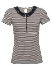 Vive Maria Sailor Day Shirt cream/navy – Bild 0