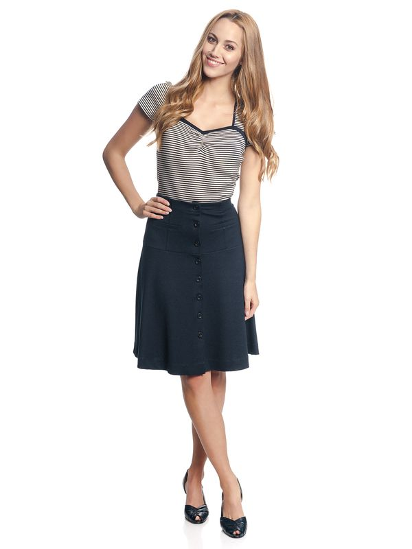 Vive Maria City Sailor Skirt navy – Bild 2