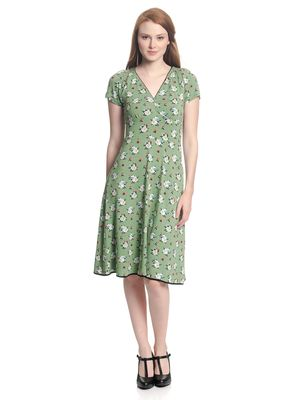 Vive Maria Sweet Memories Dress green allover – Bild 1