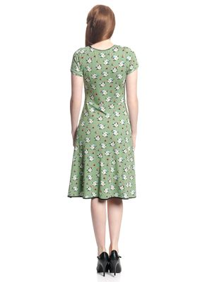 Vive Maria Sweet Memories Dress green allover – Bild 3
