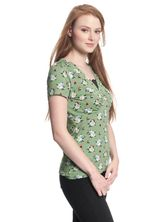 Vive Maria Sweet Memories Shirt green allover – Bild 2