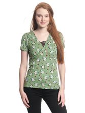 Vive Maria Sweet Memories Shirt green allover – Bild 1