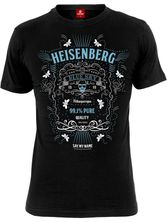 Breaking Bad Heisenberg Old Blue Sky Tee for Men Black – Bild 0