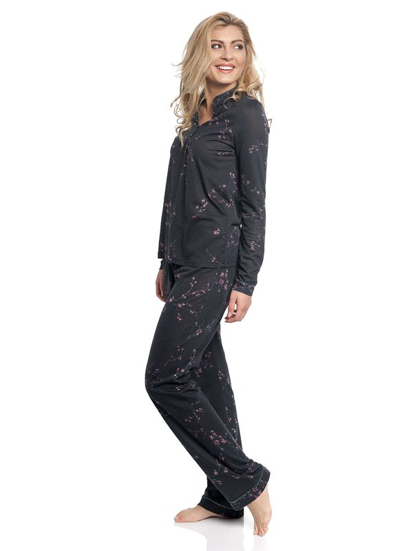 Vive Maria Japanese Girl Long Pyjama black – Bild 2