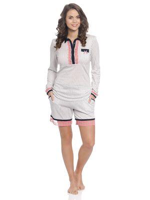 Vive Maria Strawberry Kiss Short Pyjama creme – Bild 0