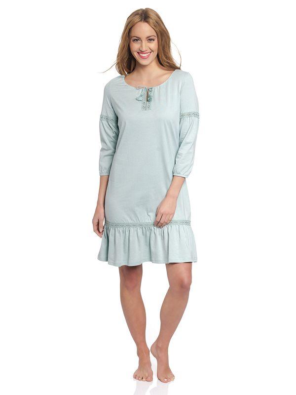 Vive Maria Mint Boho Nachthemd grau mint – Bild 1