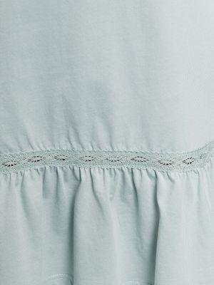 Vive Maria Mint Boho Nachthemd grau mint – Bild 3