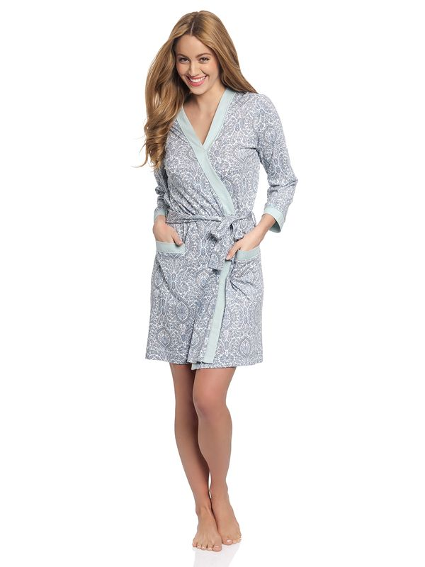Vive Maria My Boho Dressing Gown gray mint – Bild 1