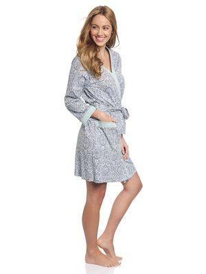Vive Maria My Boho Dressing Gown grau mint – Bild 1