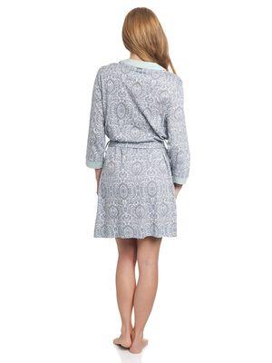 Vive Maria My Boho Dressing Gown grau mint – Bild 2