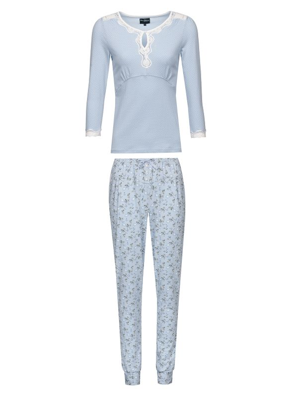 Vive Maria Katies Dream Long Pyjama hellblau – Bild 6