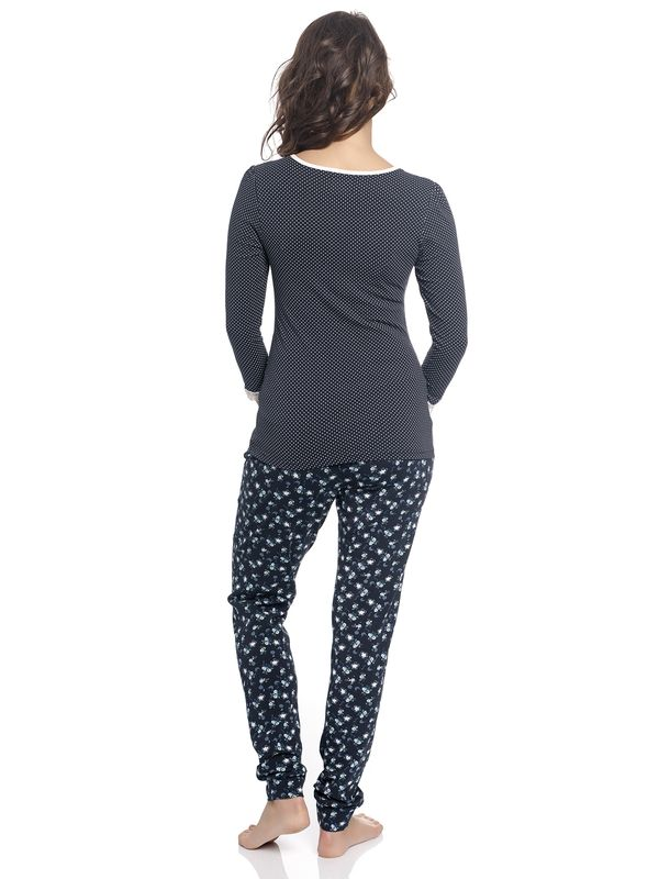 Vive Maria Katies Dream Long Pyjama navy – Bild 3