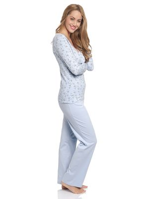Vive Maria Who Is Katie Long Pyjama hellblau – Bild 1
