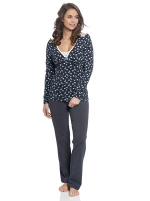 Vive Maria Who Is Katie Long Pyjama navy – Bild 0