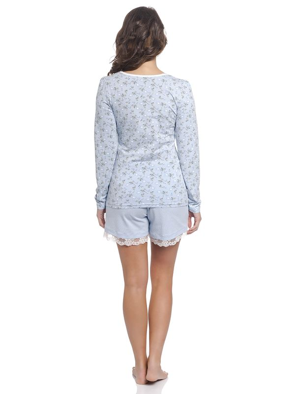 Vive Maria Who Is Katie Short Pyjama lightblue – Bild 3