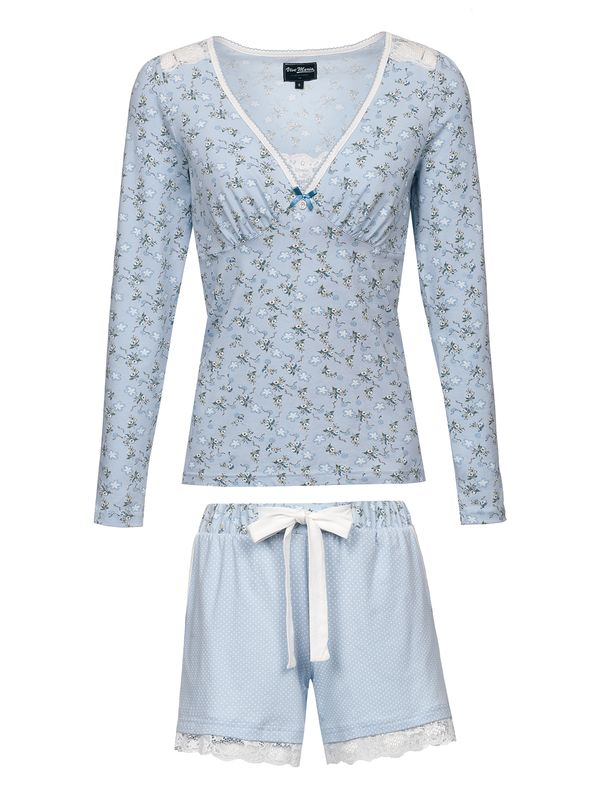 Vive Maria Who Is Katie Short Pyjama lightblue – Bild 5