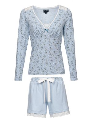 Vive Maria Who Is Katie Short Pyjama hellblau – Bild 0