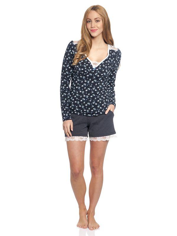 Vive Maria Who Is Katie Short Pyjama navy – Bild 1