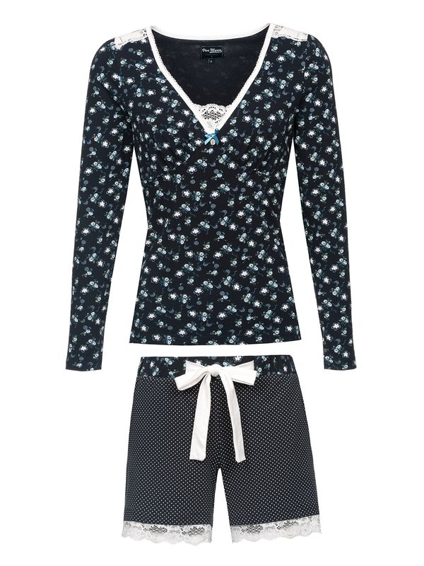 Vive Maria Who Is Katie Short Pyjama navy – Bild 1