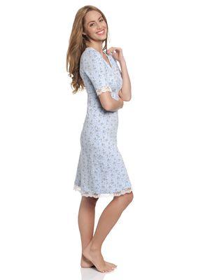 Vive Maria Who Is Katie Nachthemd hellblau – Bild 2