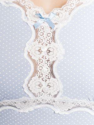 Vive Maria Dotty Pyjama Short hellblau – Bild 3
