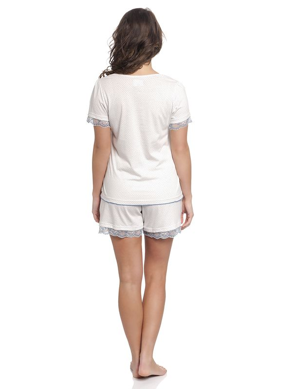 Vive Maria Honey Moon Short Pyjama offwhite – Bild 3