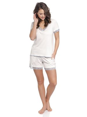 Vive Maria Honey Moon Short Pyjama offwhite – Bild 0