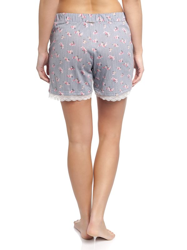 Vive Maria Flower Boudoir Single Shorts grau – Bild 3