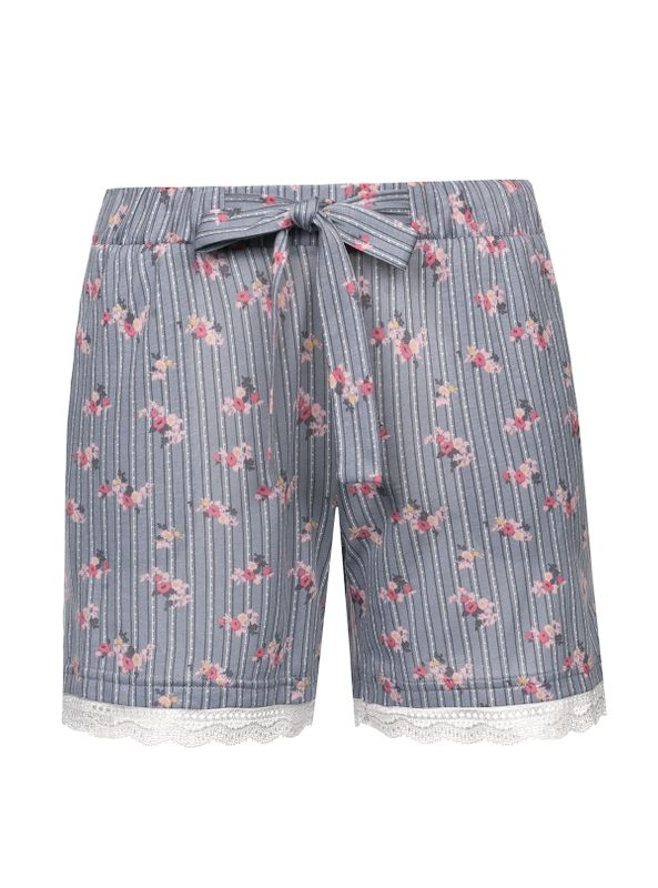 Vive Maria Flower Boudoir Single Shorts grau Ansicht