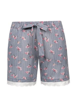 Vive Maria Flower Boudoir Single Shorts grau – Bild 0