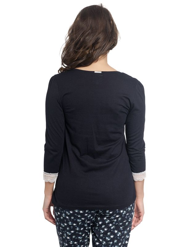 Vive Maria Dreaming Basic Single Shirt dark navy – Bild 3