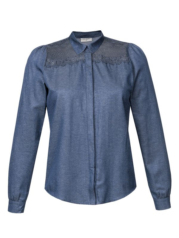 Vive Maria Parisian Denim Blouse darkblue – Bild 5