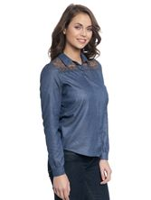 Vive Maria Parisian Denim Blouse darkblue – Bild 1