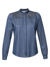 Vive Maria Parisian Denim Blouse darkblue – Bild 0