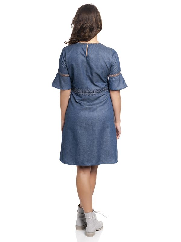 Vive Maria Victorian Denim Dress darkblue – Bild 3