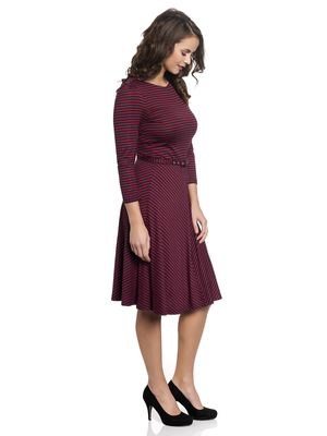 Vive Maria New York City Girl Kleid red/navy – Bild 1
