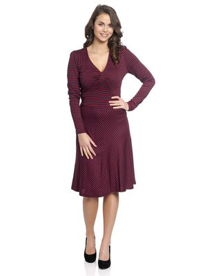 Vive Maria New York Sailor Girl Kleid red/navy – Bild 0