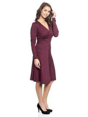 Vive Maria New York Sailor Girl Kleid red/navy – Bild 1