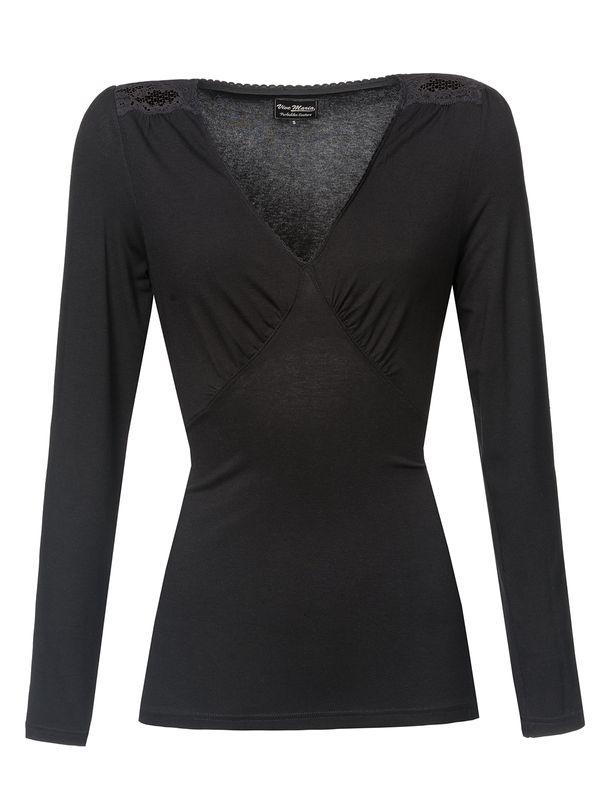 Vive Maria Vintage Shirt schwarz – Bild 5