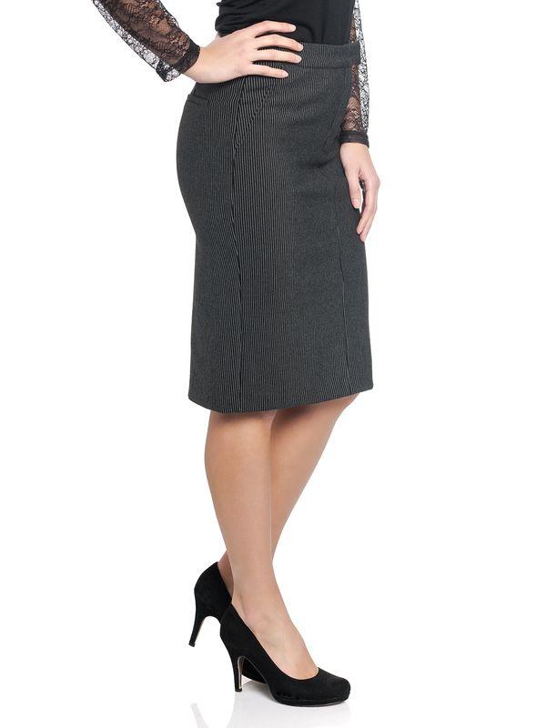 Vive Maria Dandy In Love Pencil Skirt Black – Bild 1