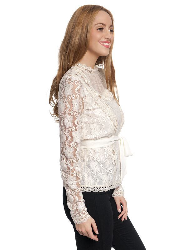 Vive Maria Dandy In Love Blouse offwhite – Bild 2